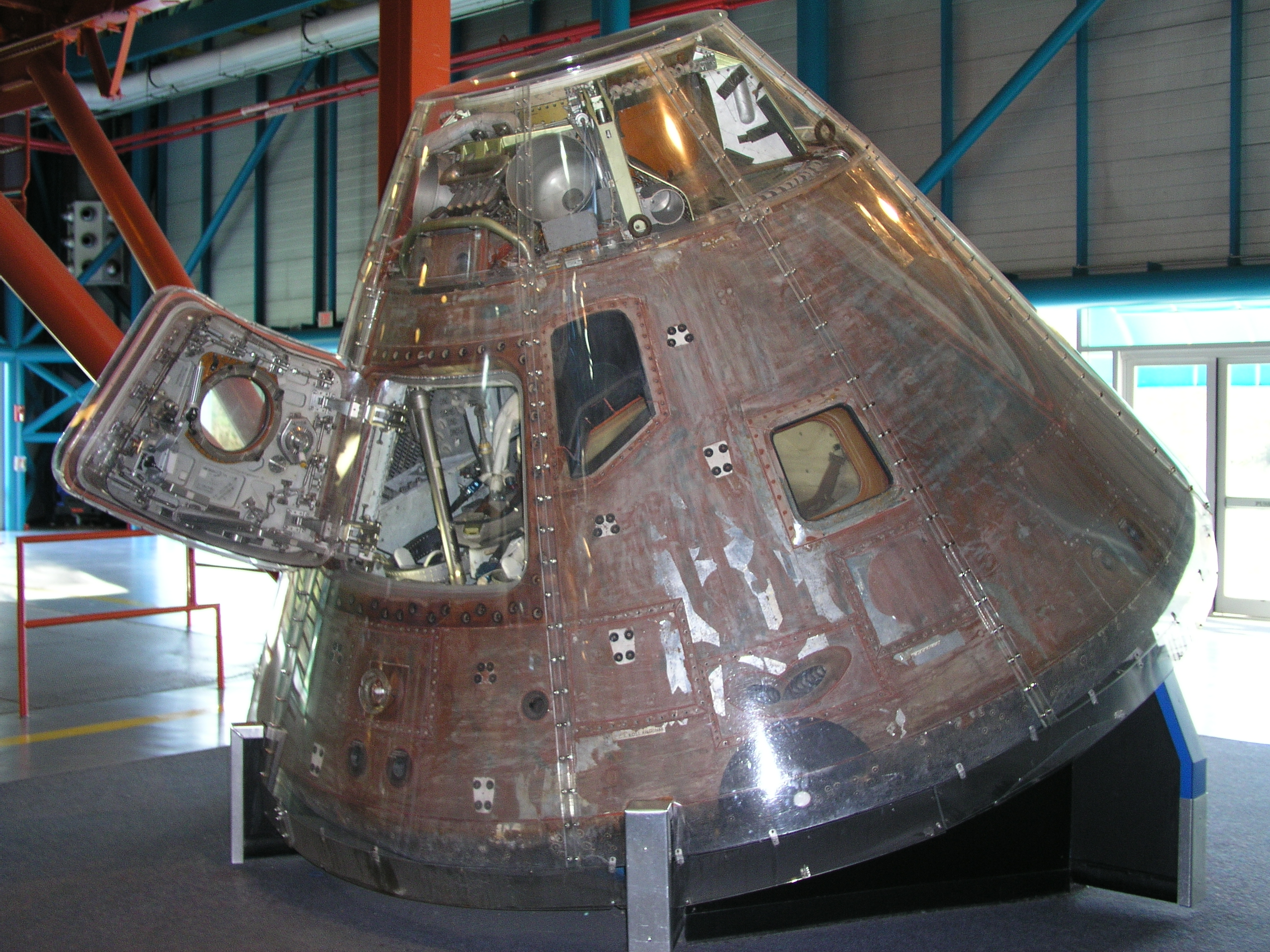 Apollo Command Modules - Nasa museums in usa